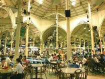 Thăm quan chợ Lau Pa Sat khi sở hữu giá vé máy bay đi Singapore rẻ