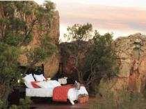 Khách sạn hiện đại được làm bằng đá ở Nam Phi