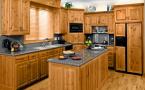Tổng hợp những loại tủ bếp gỗ tự nhiên đẹp- đồ gỗ Tâm Thu
