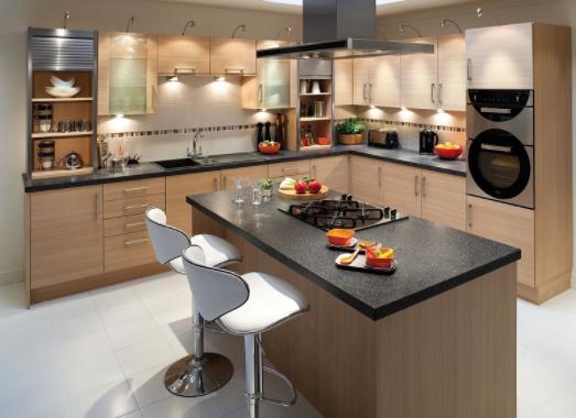 Bếp từ cho tủ bếp gỗ hiện đại